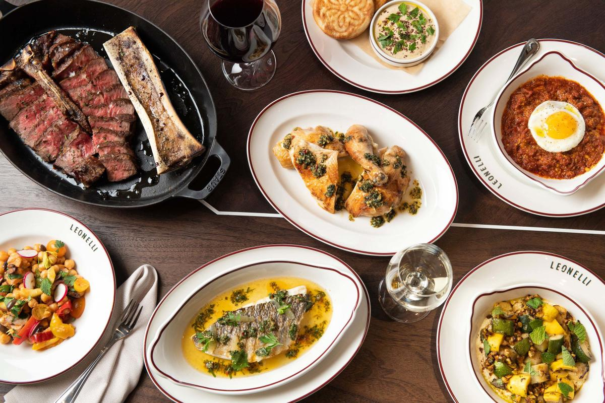 new-Leonelli-Taberna-Nomad-Manhattan-NYC-table-of-dishes-credit-Evan-Sung