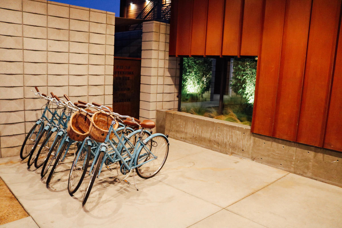 ARRIVE Hotel bikes