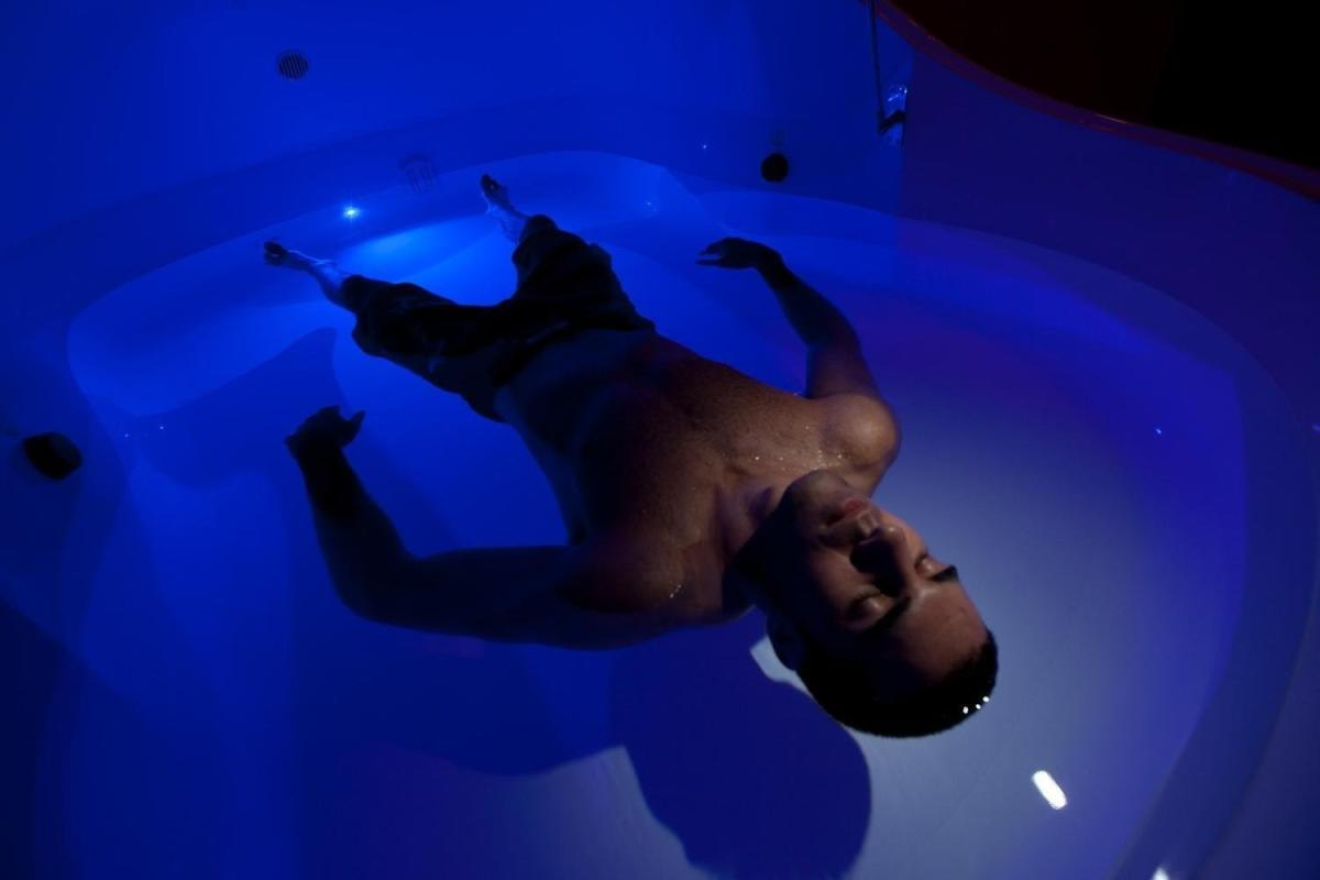 Flotation therapy at Desert Serenity Float & Spa