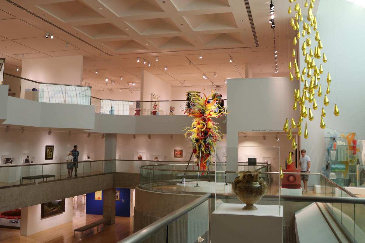 Inside Palm Springs Art Museum