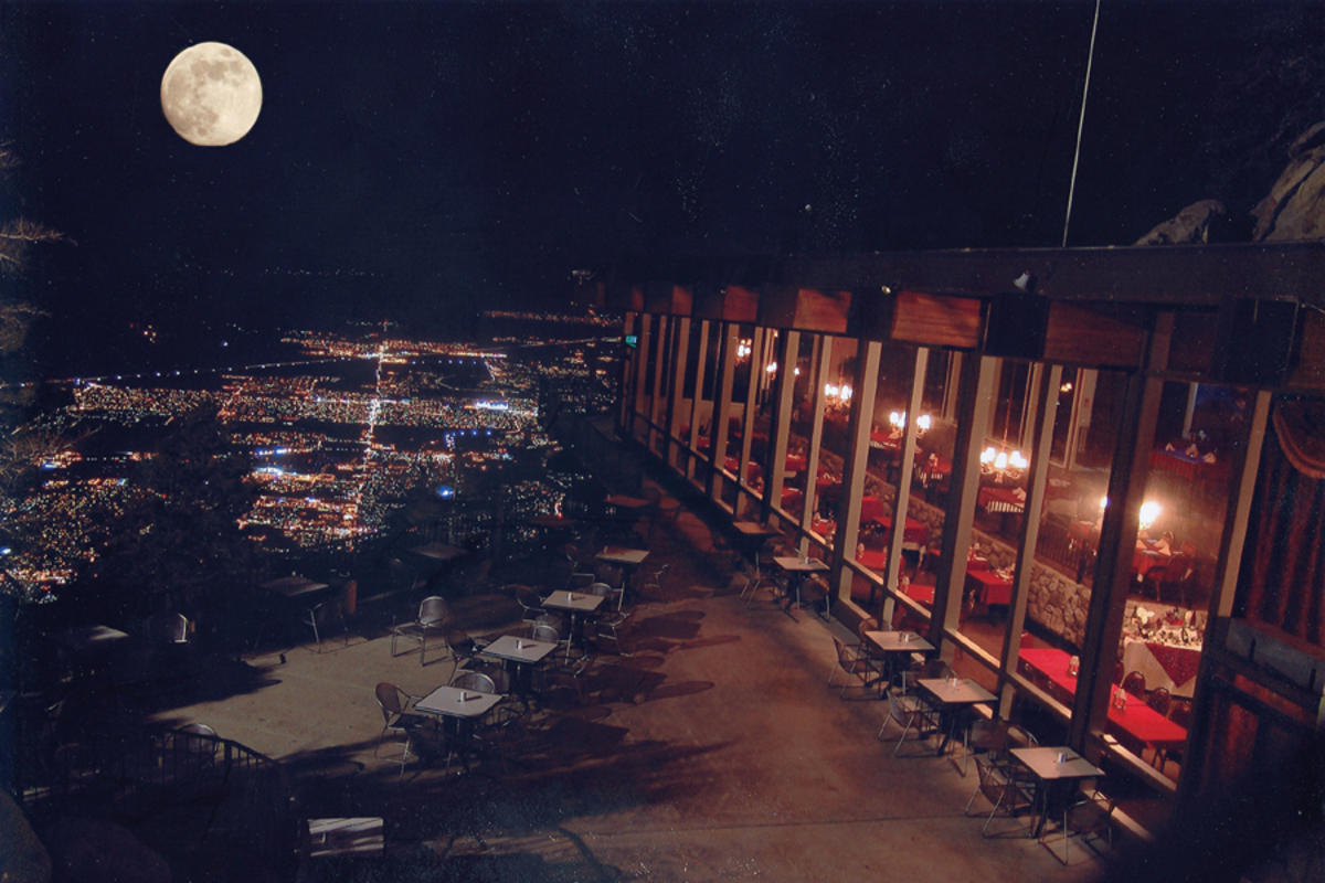 Peaks Restaurant view
