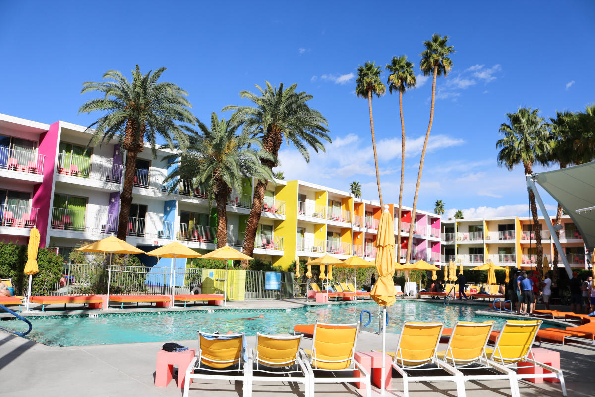 Pool at The Saguaro Palm Springs