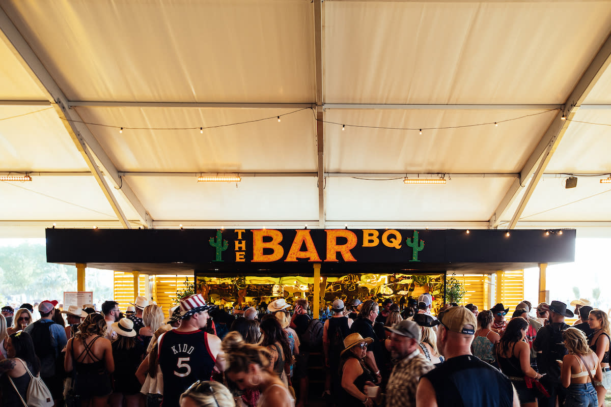 Bar BBQ sign at Stagecoach