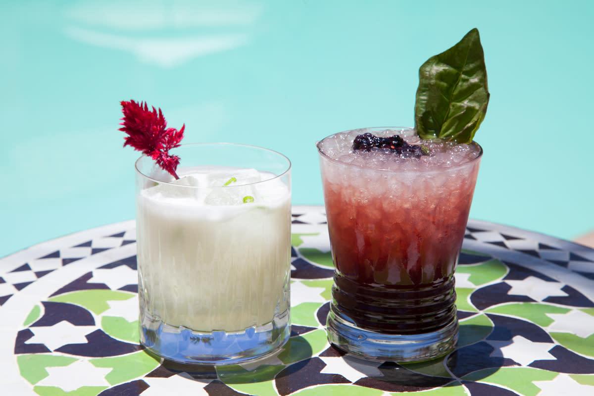 summer cocktails sands hotel & spa
