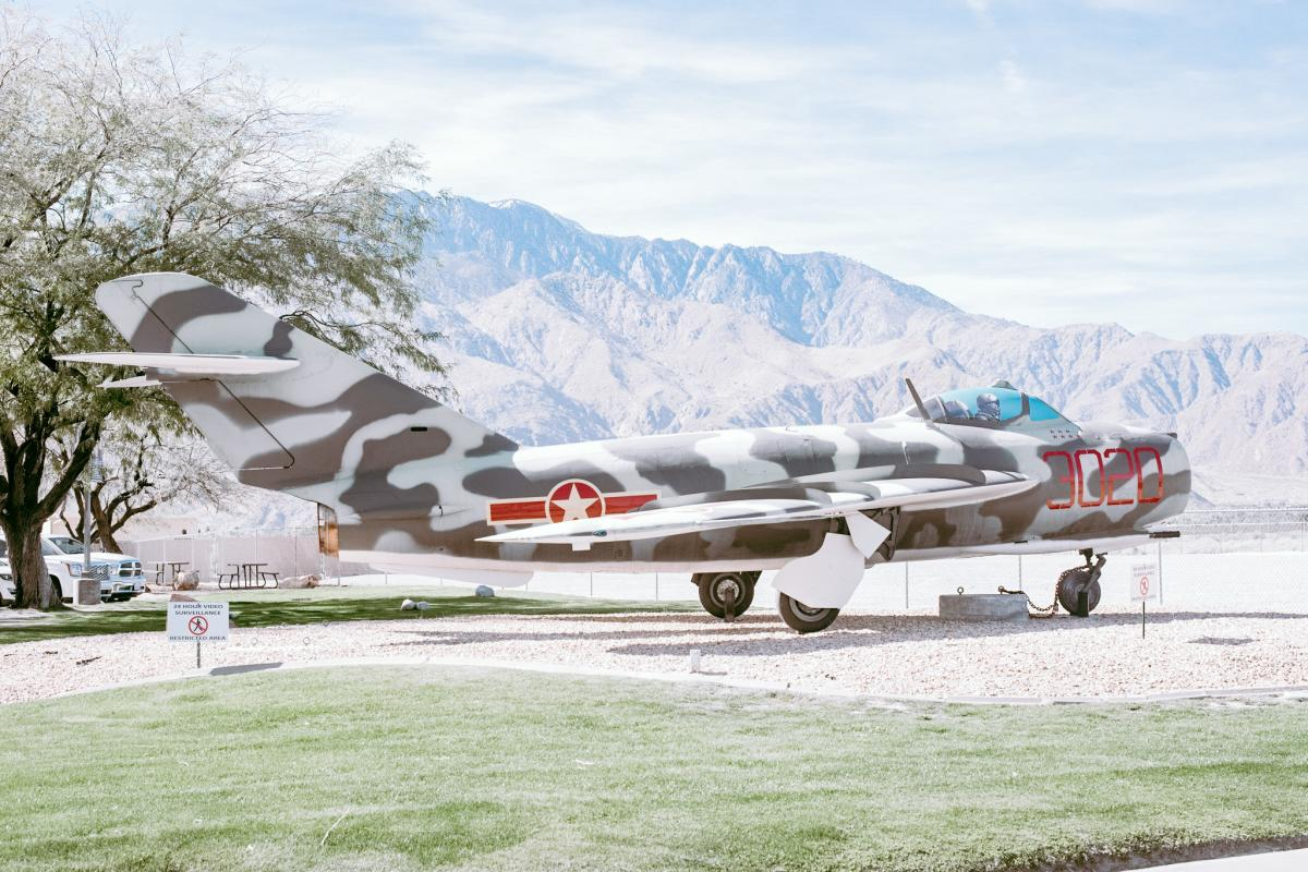 Plane at Palm Springs Air Museum