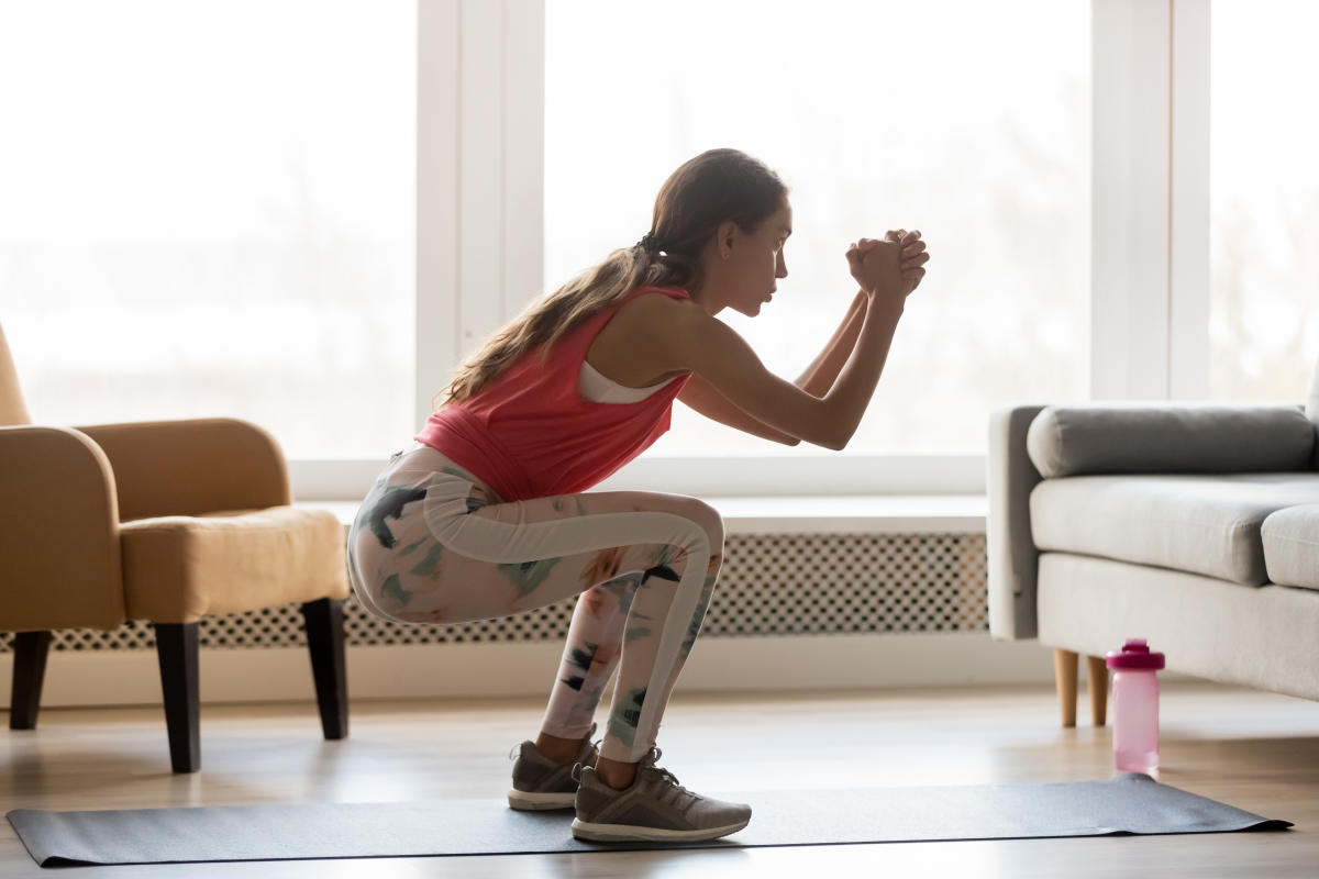 iStock_Home Workout