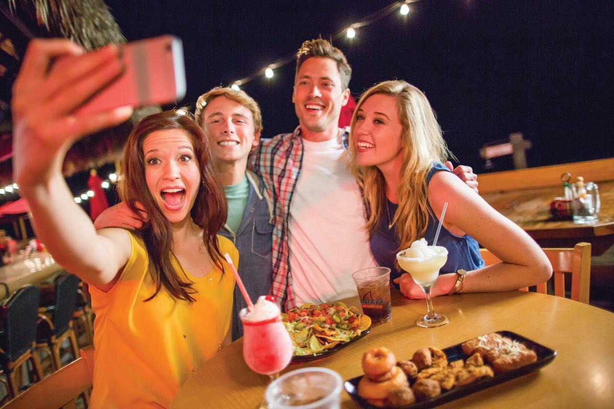 Panama City Beach Florida nightlife Sharky's Restaurant