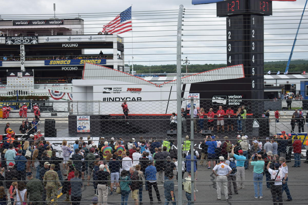 Fan Fair at Pocono Raceway