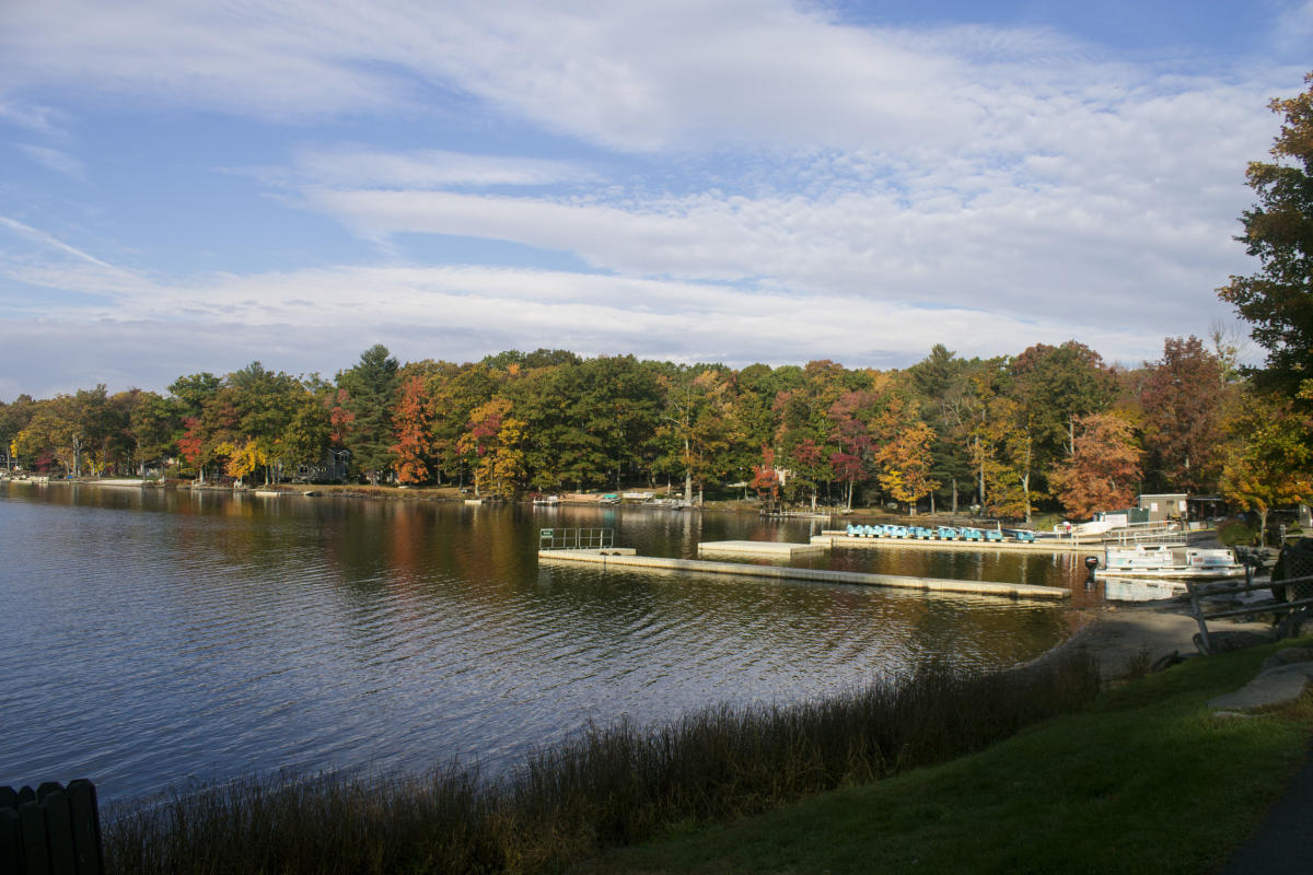Fall Around Woodloch Resort in the Poconos