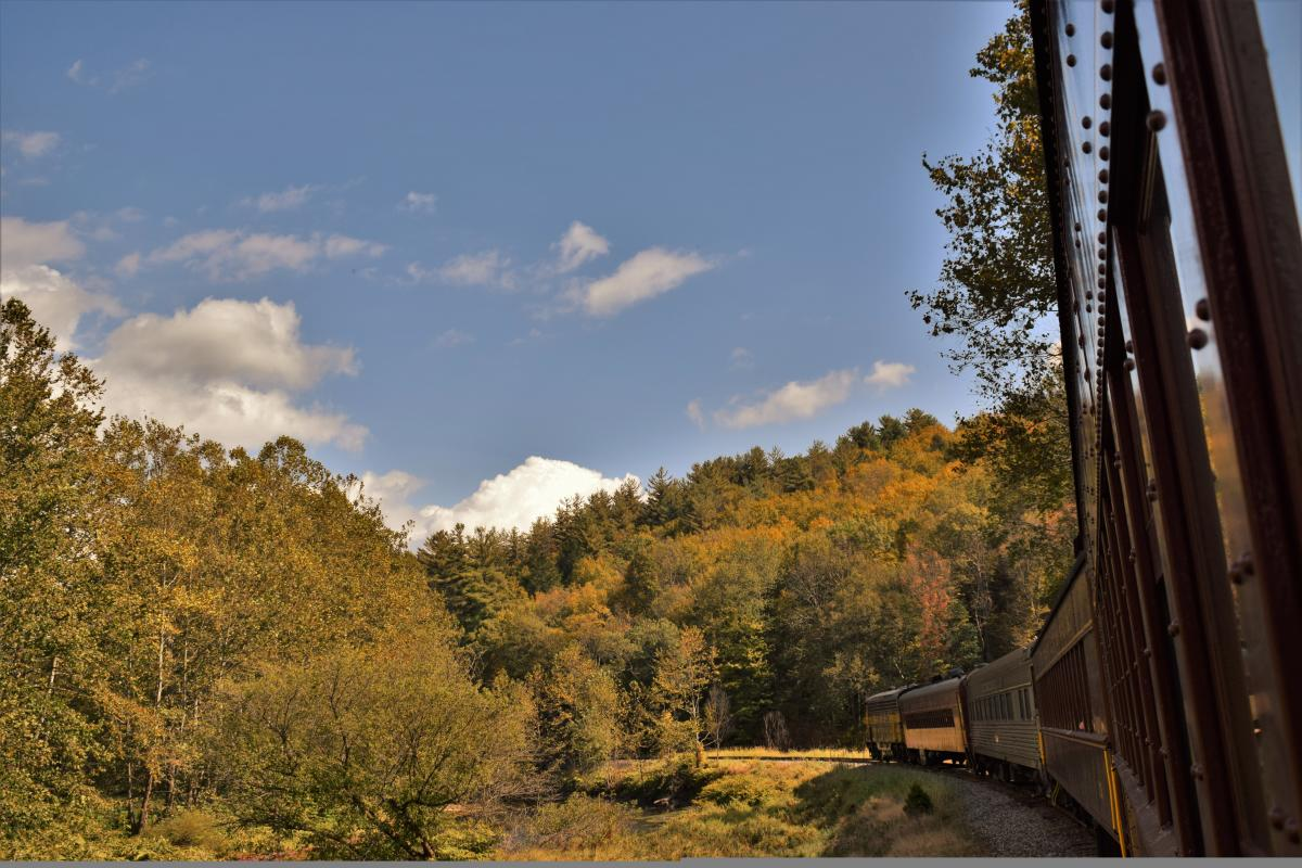Take in the fall foliage aboard the Stourbridge line
