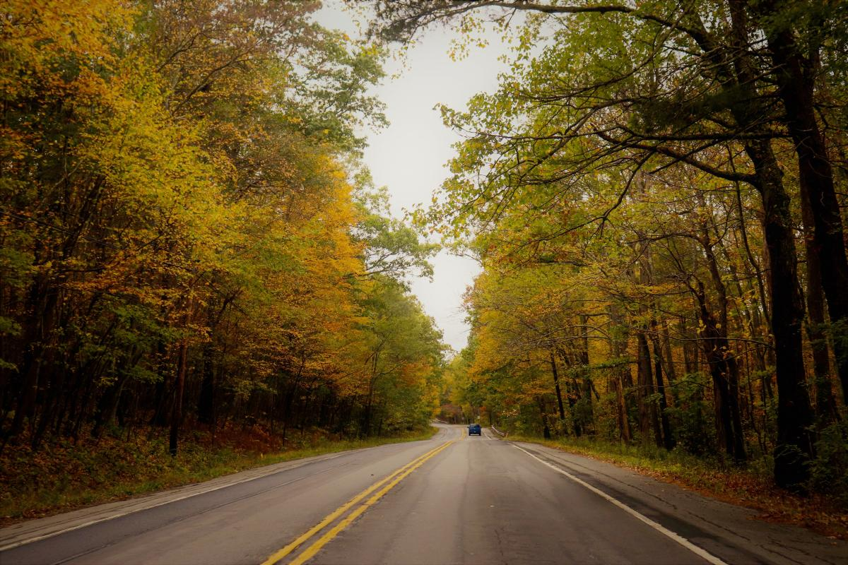 Scenic Fall Drives in the Pocono Mountains