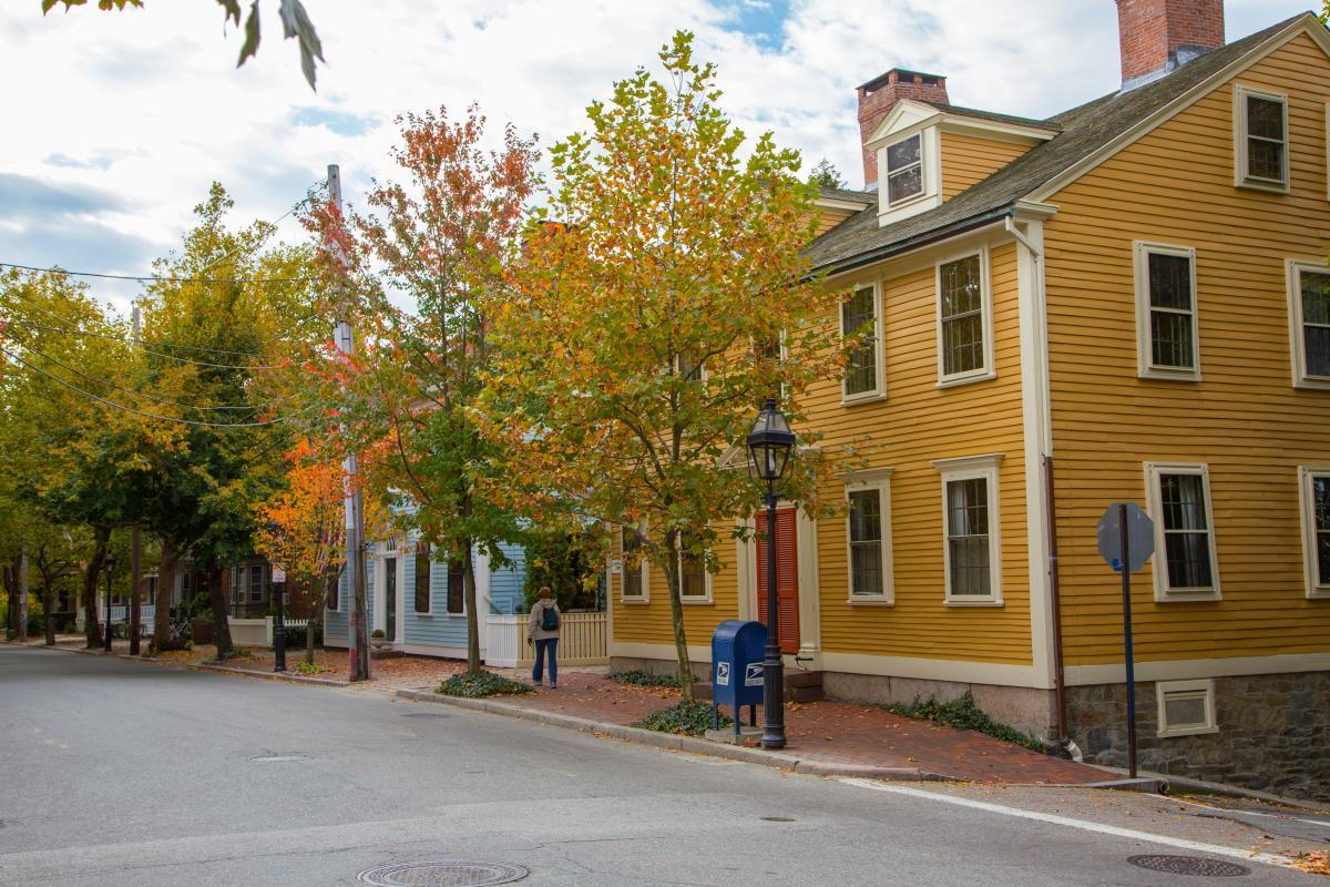 Benefit Street Fall