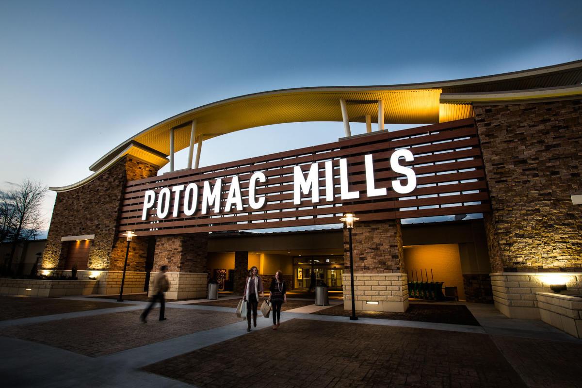 Potomac Mills Exterior