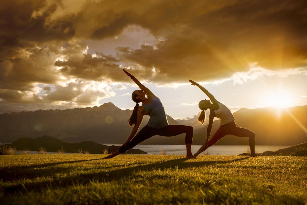 Yoga wellness relax rejuvenate