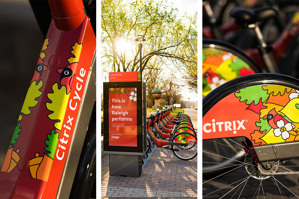 Citrix Cycle collage
