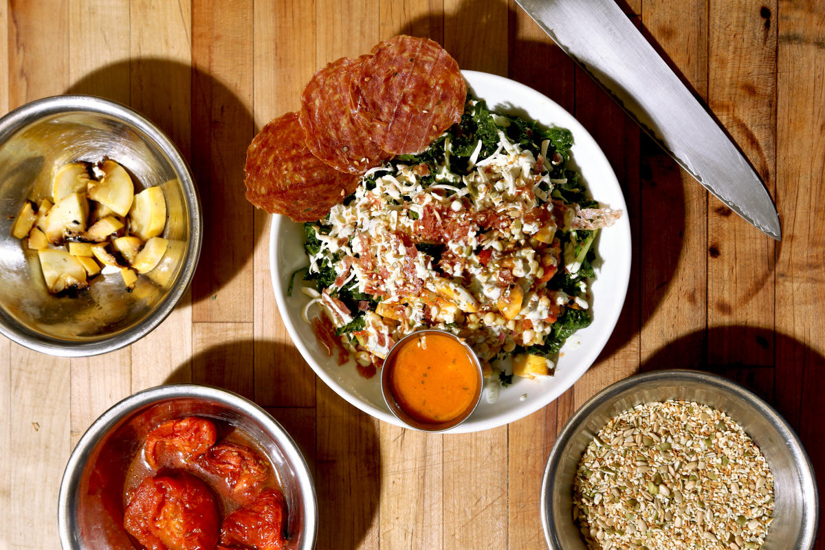 Happy + Hale Ashley Christensen Poole'side Salad
