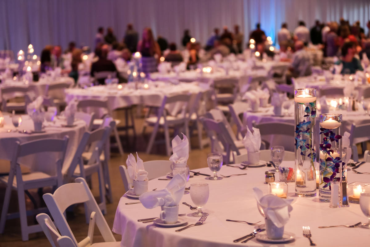 Celebrate a wedding or special event at Mayo Civic Center