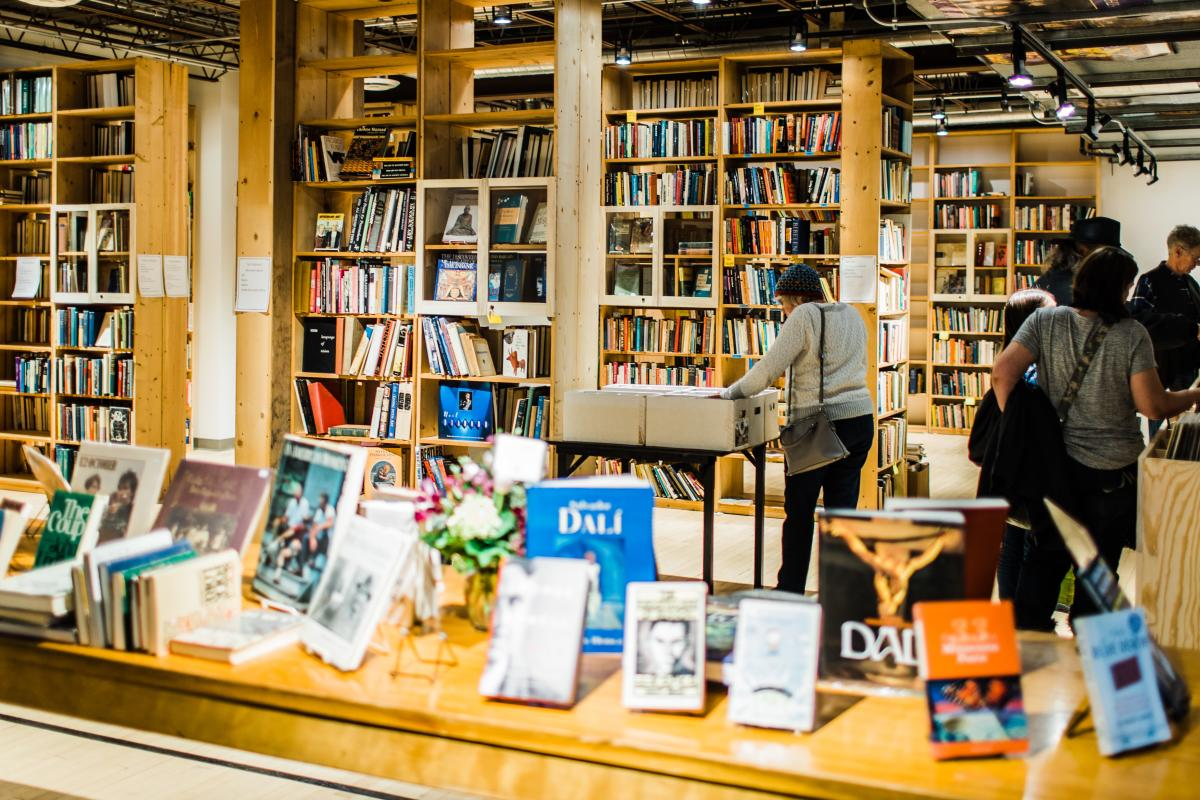 Collective Books & Records at the Castle Community in Rochester, MN