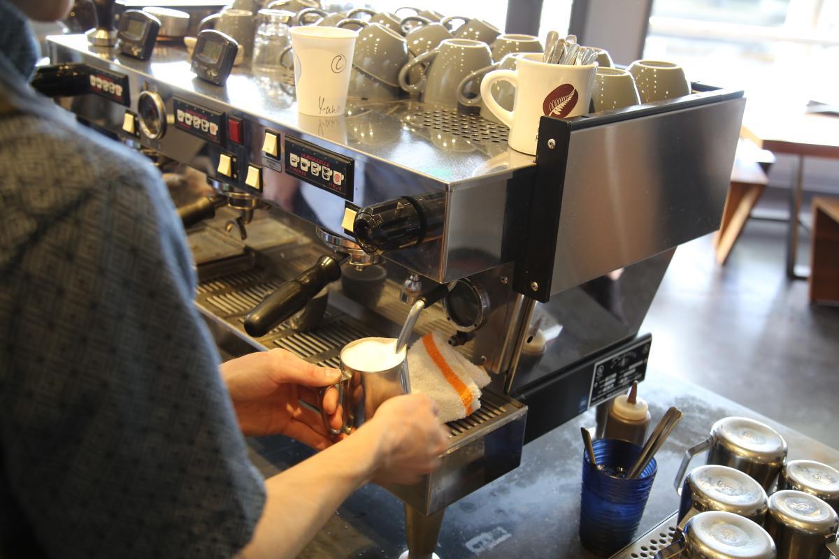 Coffee Latte Brewing