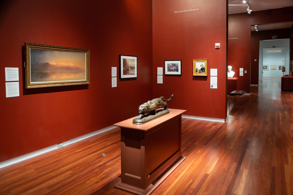 American and Regional Galleries at the Utah Museum of Fine Arts