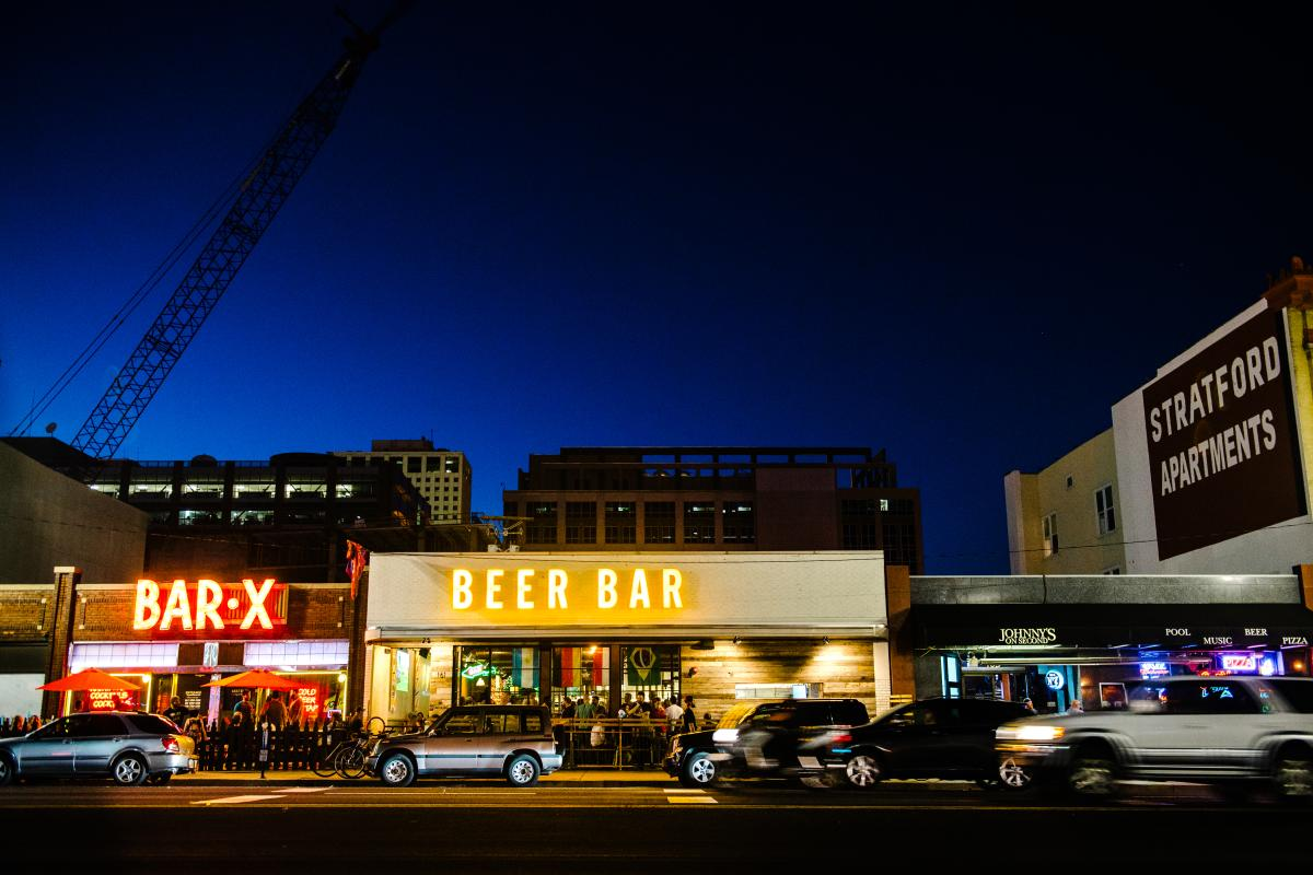 Street View of Beer Bar and Bar X
