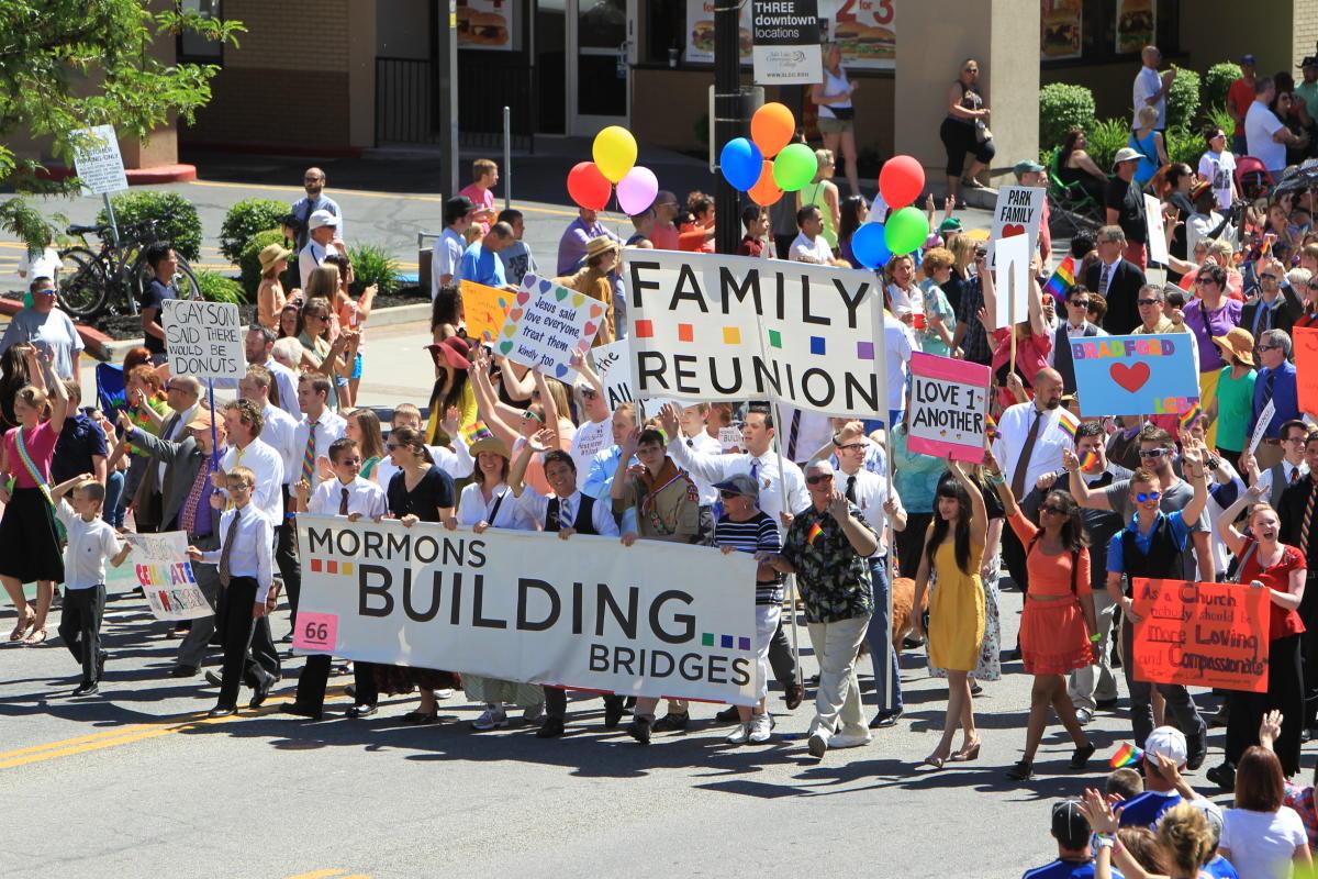 Mormons Building Bridges at Pride Festival