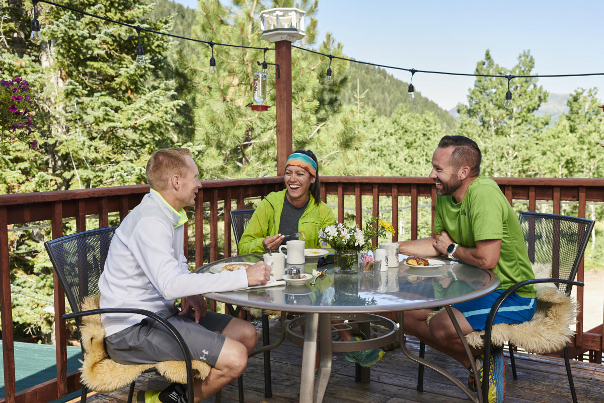Start your trip up Big Cottonwood Canyon at Silver Fork Lodge