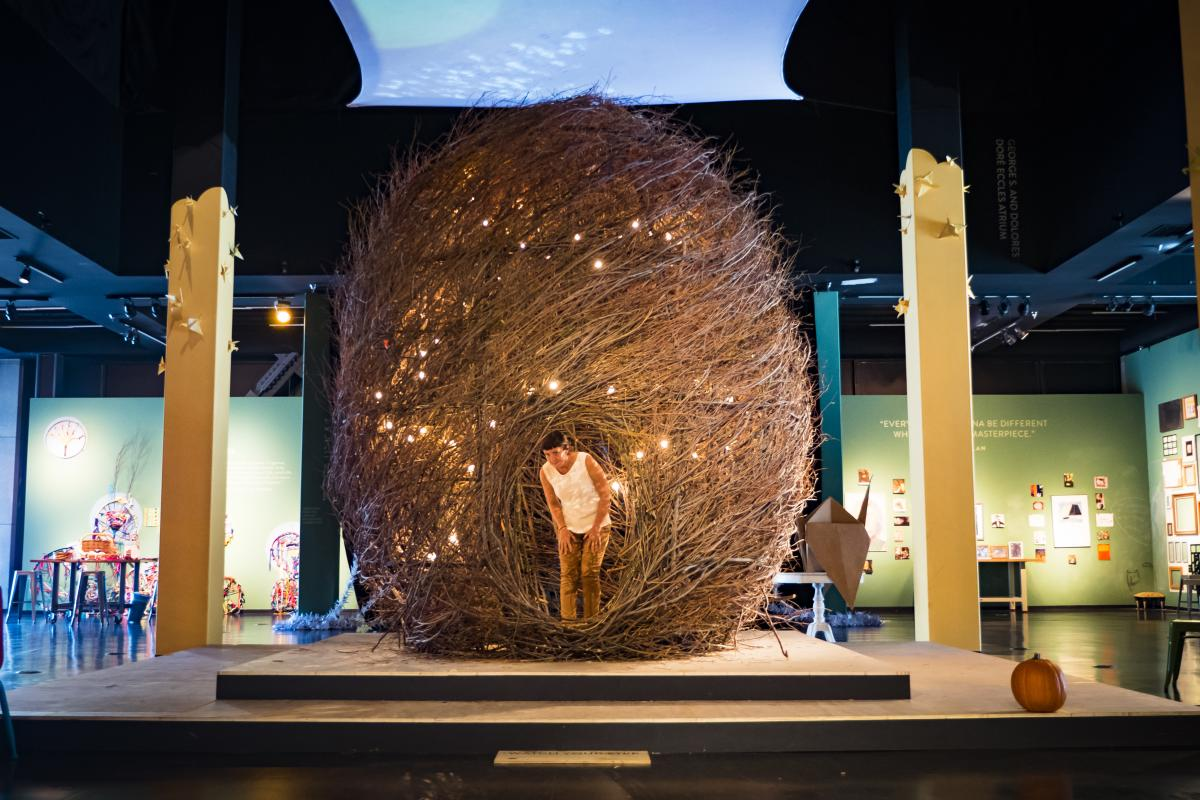 The Leonardo - Nest Exhibit