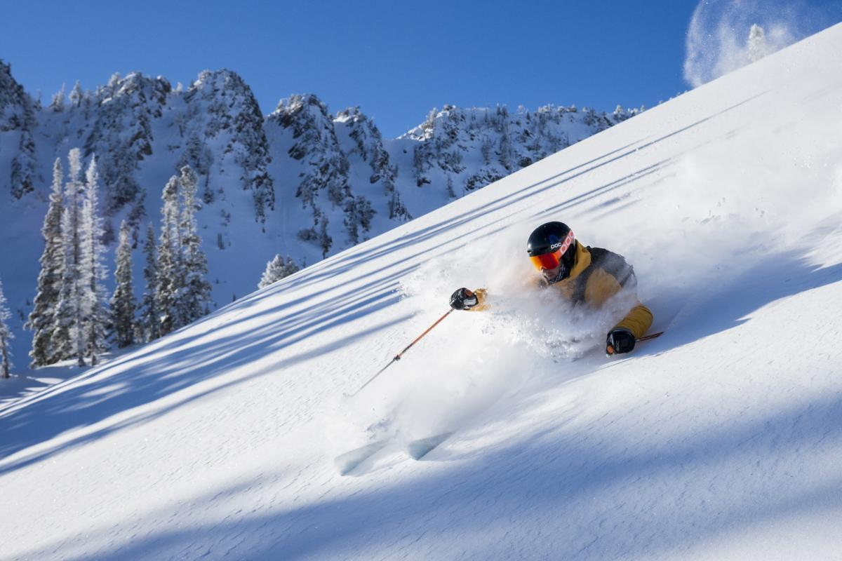Snowbasin Resort offers 3000 skiable acres of beautiful snow