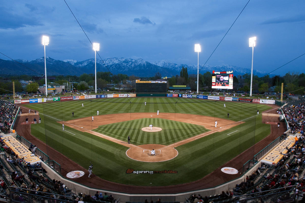Salt Lake Bees Baseball Stadium