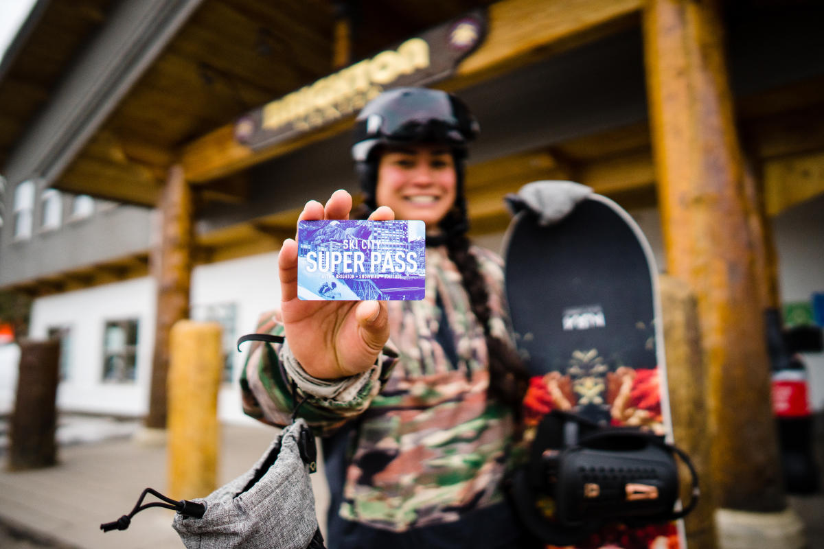 is your discounted lift ticket to Salt Lake's four world-class resorts The Ski City Super Pass