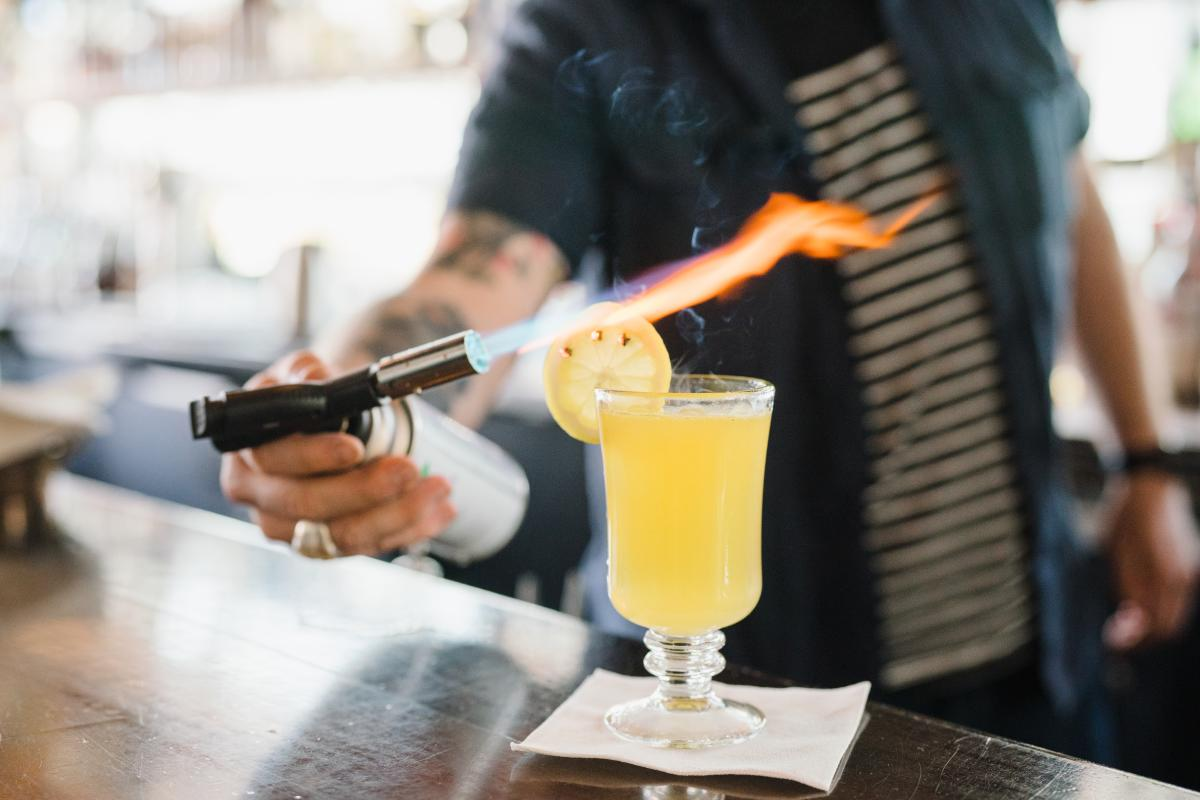 The craft cocktails at Copper Common can't be beat