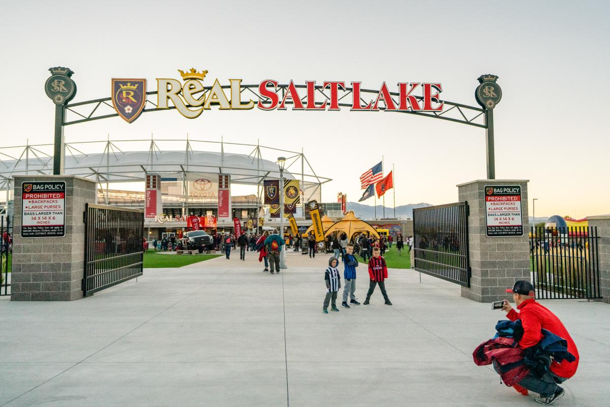 Even our Real Salt Lake Soccer Games are family-friendly