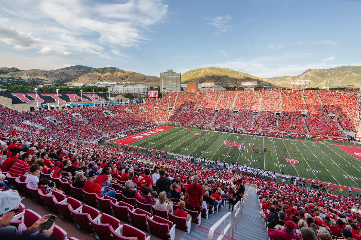Football Game at University of Utah