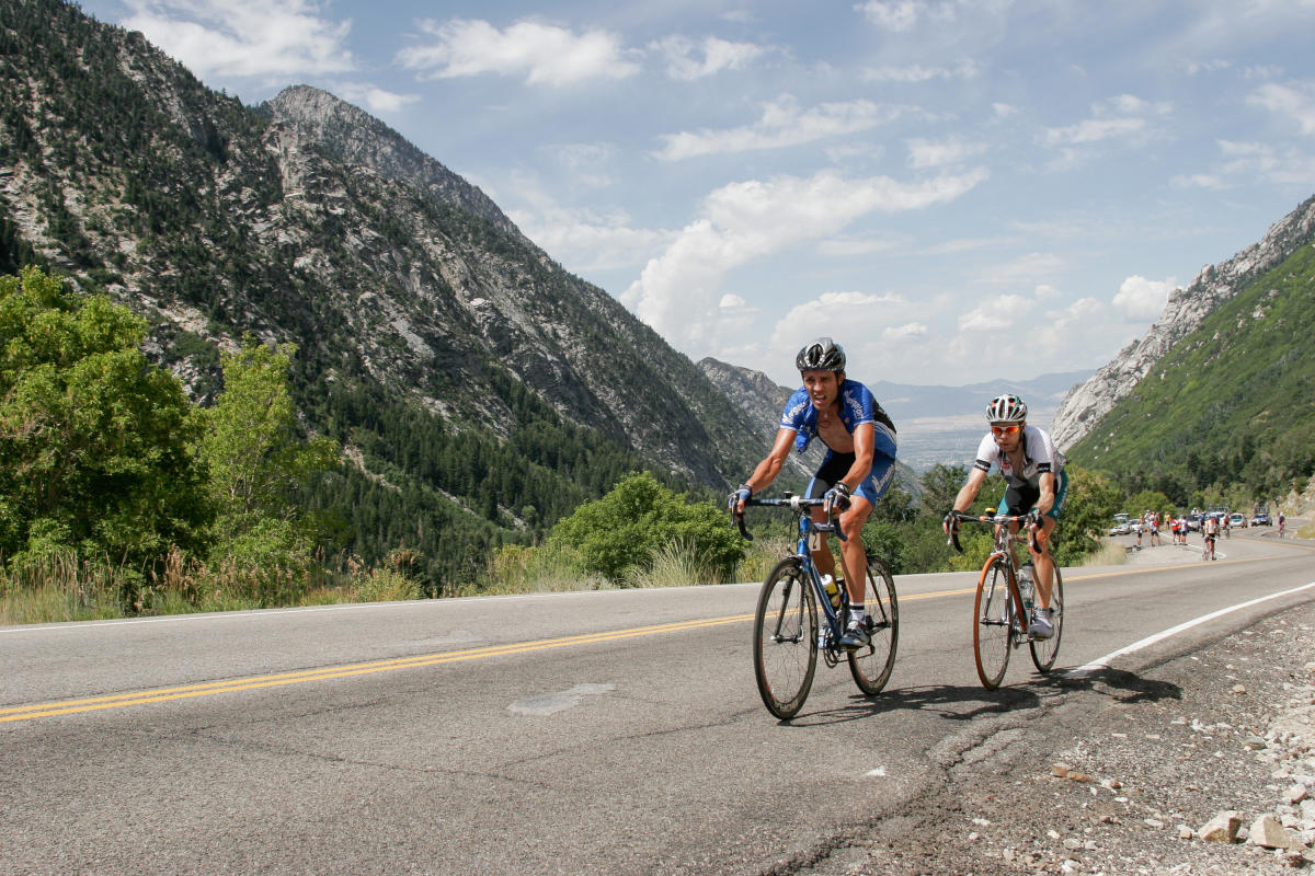 You can't beat the views up Little Cottonwood Canyon