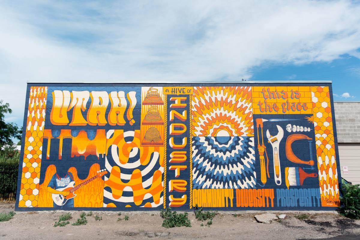 UTAH! Mural