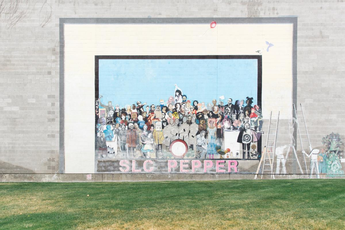 SLC Pepper Mural