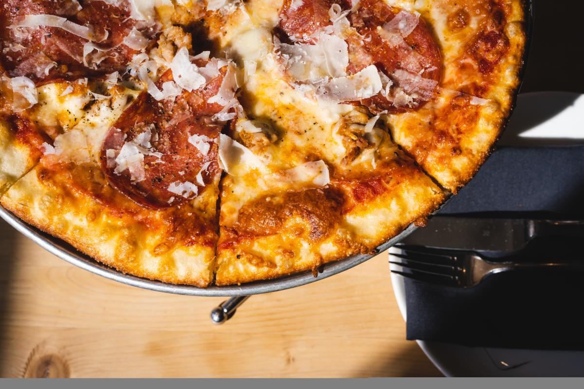 Pizza from UNA Pizza + Wine in Saskatoon, SK
