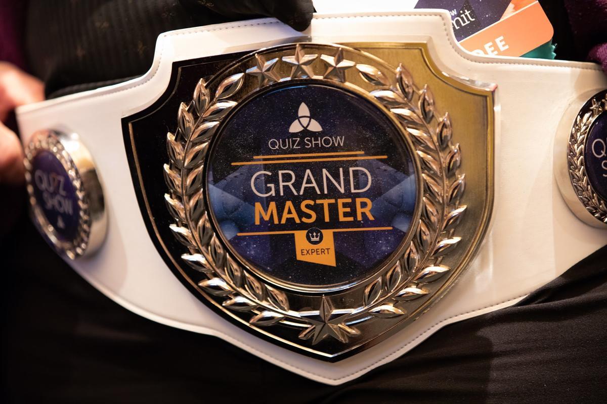CRM Quiz Grand Master Belt