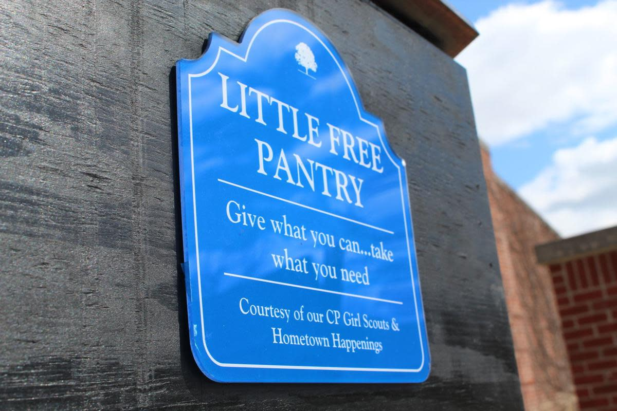 Little Free Pantry Crown Point