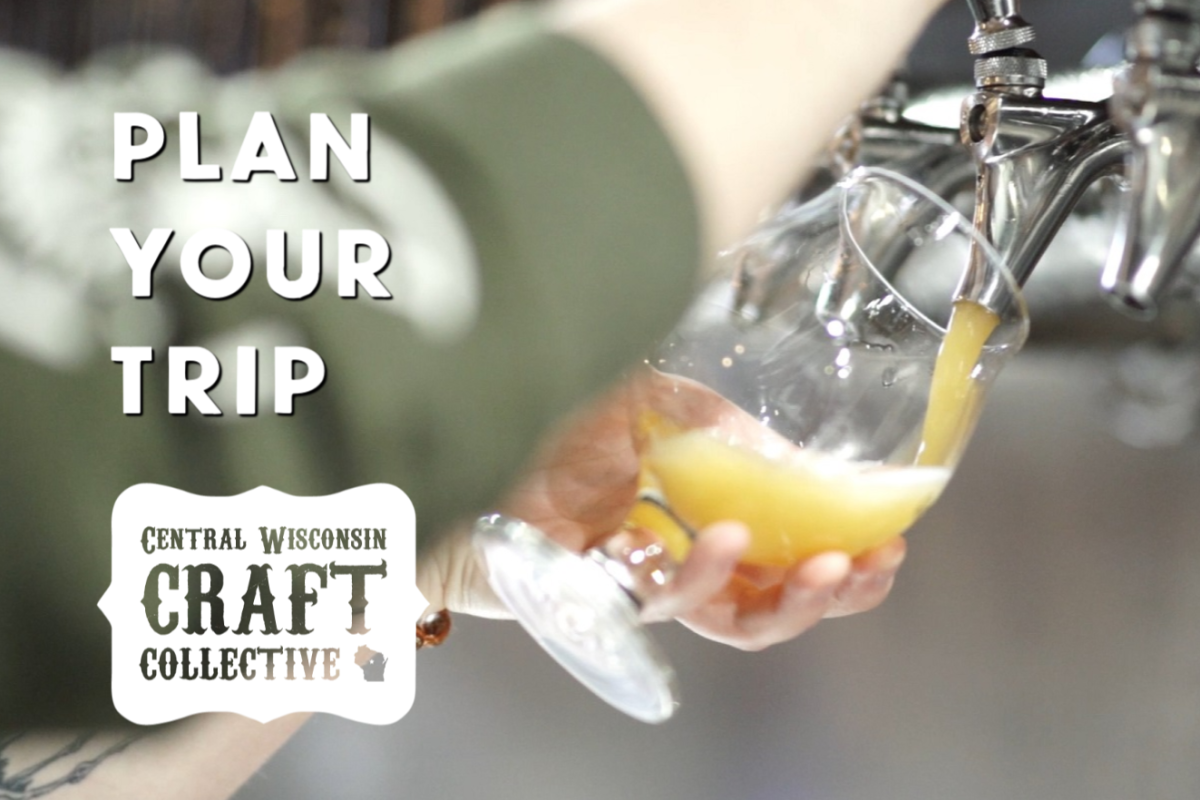 Plan your trip for the Central Wisconsin Craft Collective, with a stop at the local craft beer, wine and spirit stops in the Stevens Point Area.