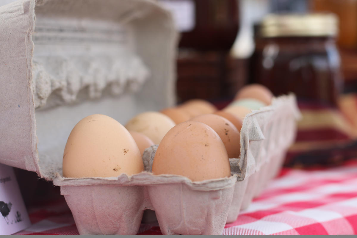 Farmers Market Eggs