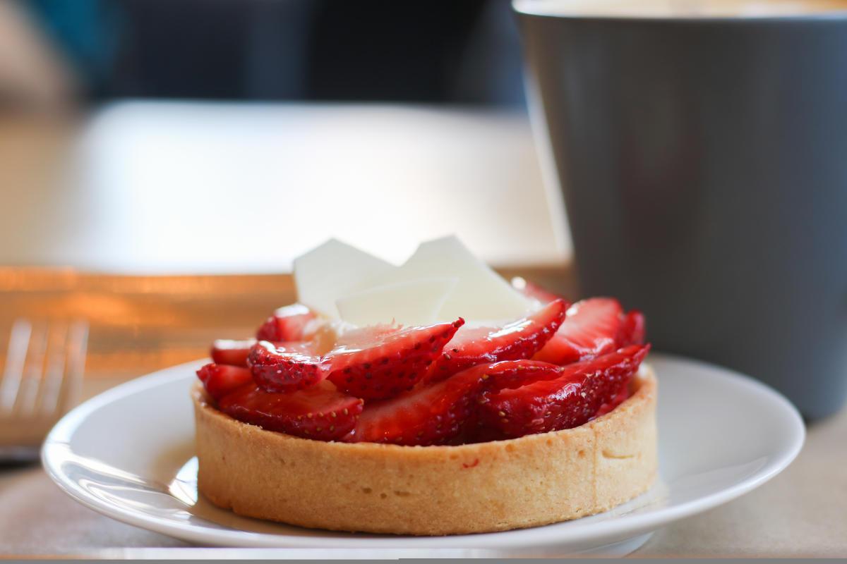 Sucrose Strawberry Tart