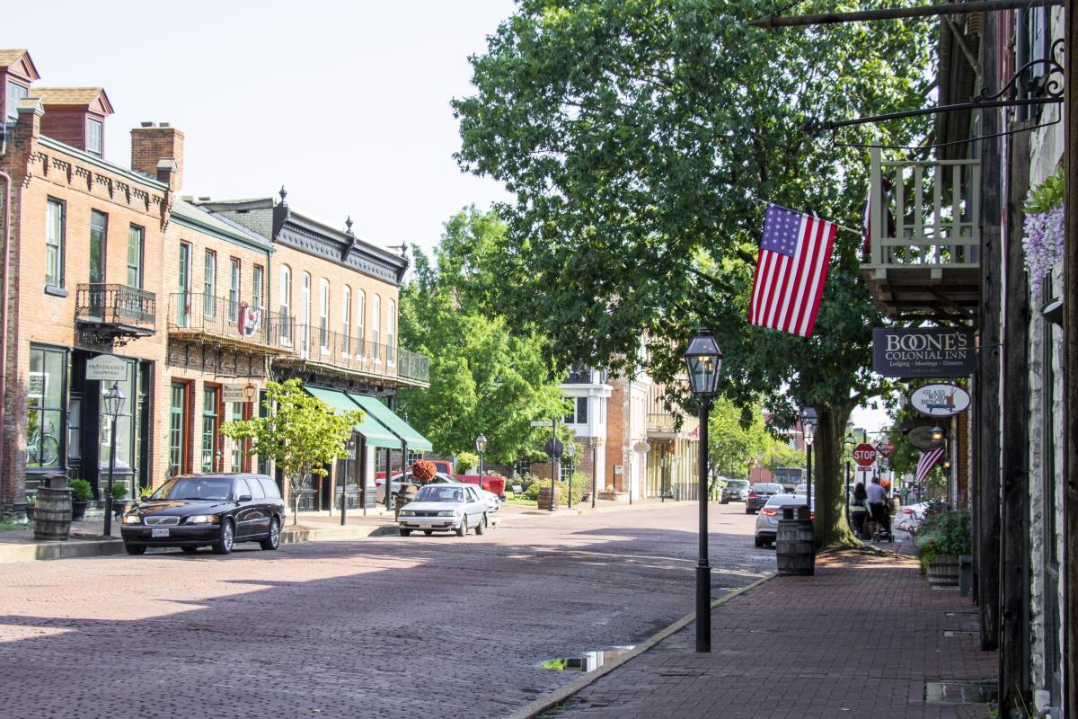 Main Street St. Charles