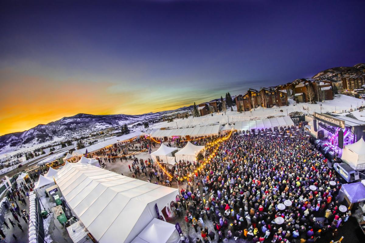 Winter Wonder Grass Festival, Steamboat Springs, Colorado