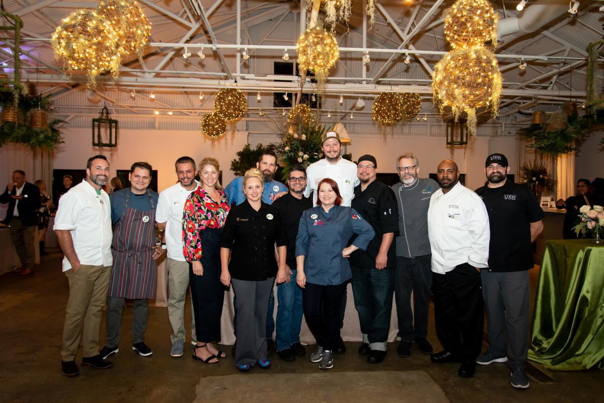 Chefs from Culinary Trails Atlanta 2019 LTA