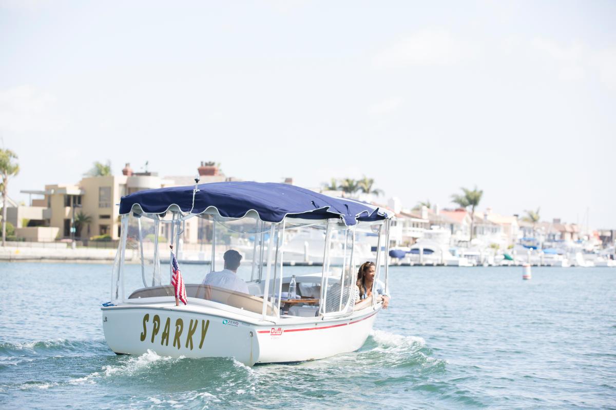 Huntington Harbour Duffy Boat