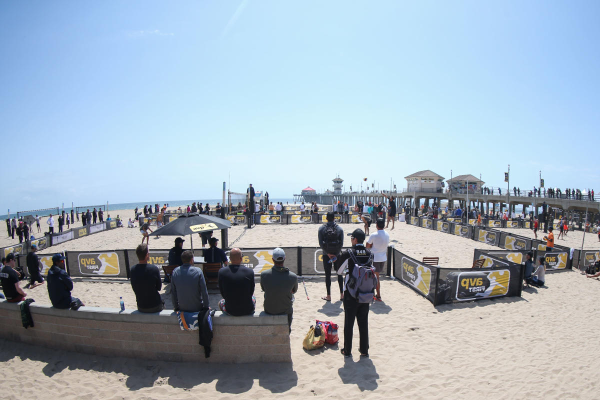 AVP Volleyball Tourment in Huntington Beach