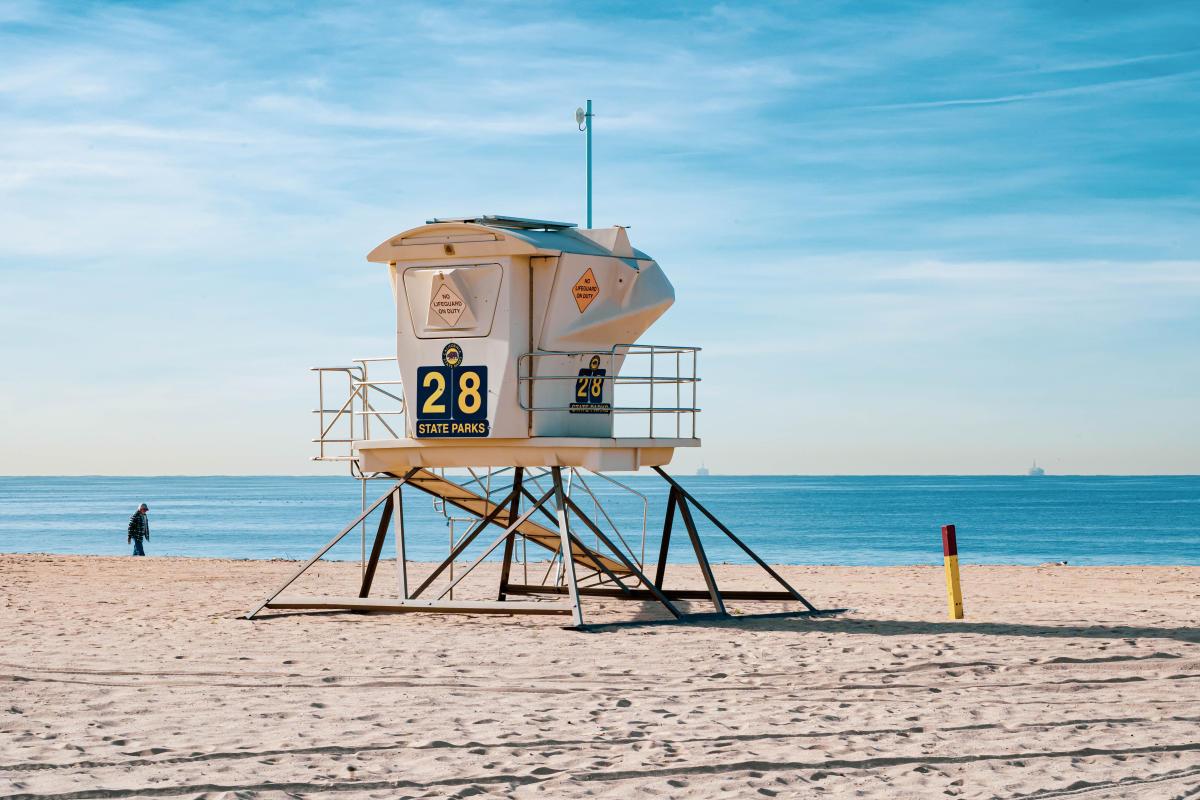 Bolsa Chica State Beach in Huntington Beach