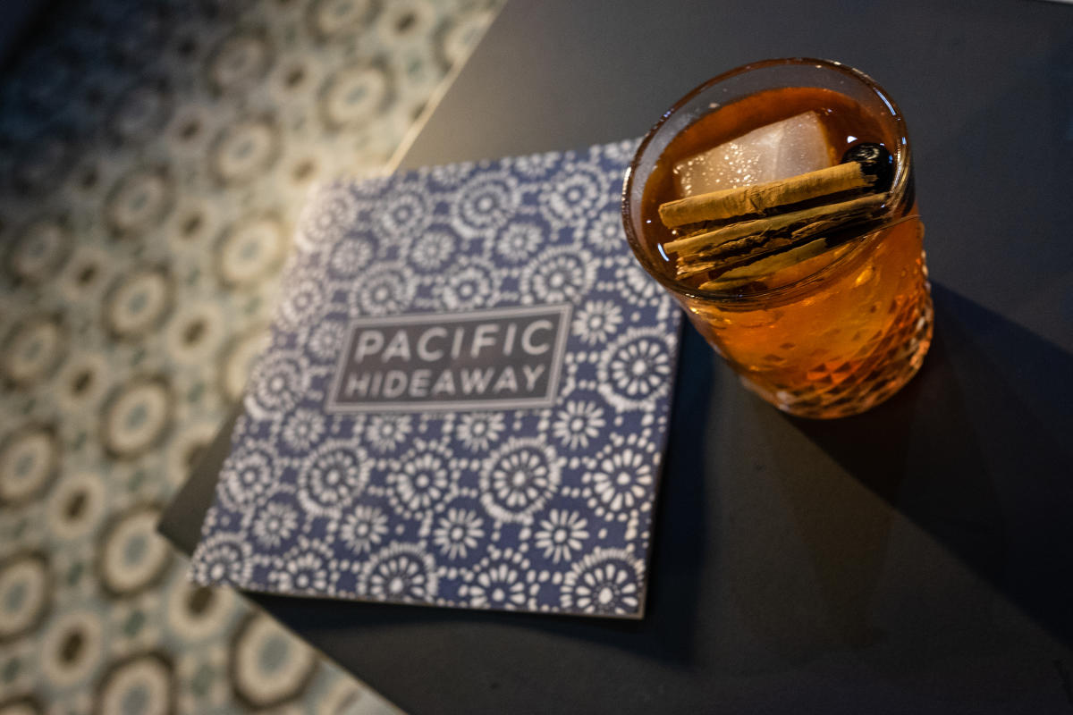 Pacific Hideaway Cocktail